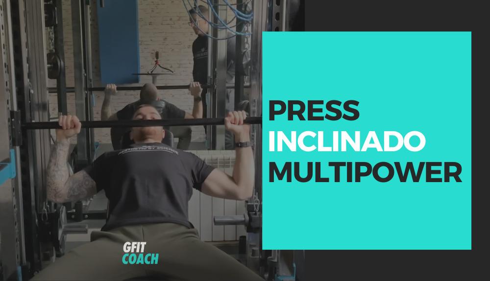 Press inclinado en Multipower